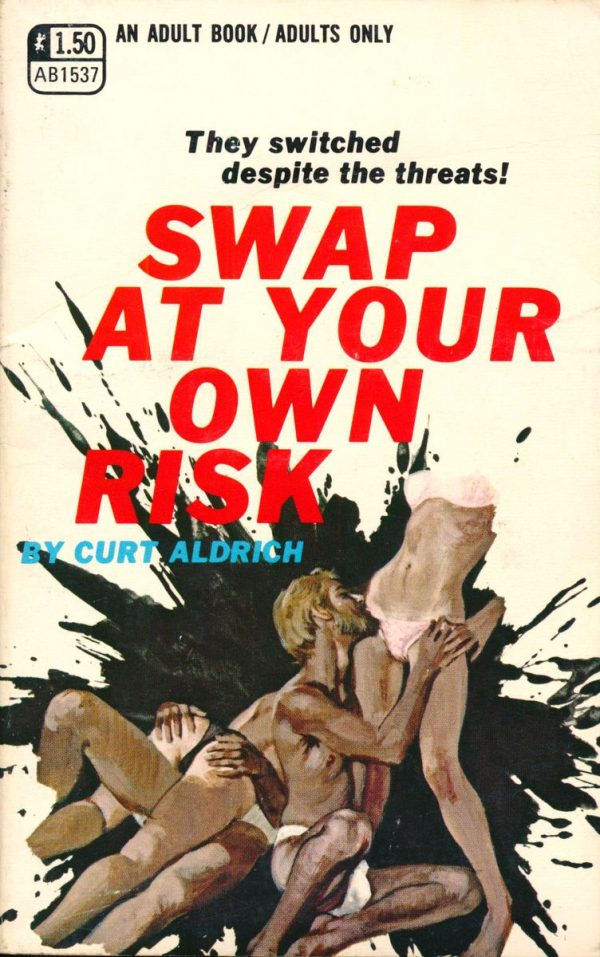 Adult Books AB1537 - Swap At Your Own Risk (1970)