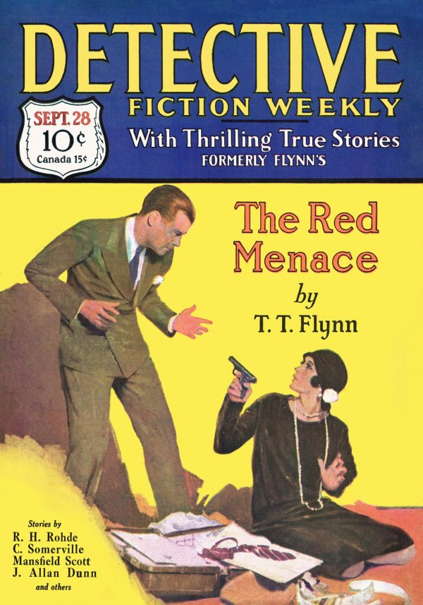 Detective Fiction Weekly September 28 1929