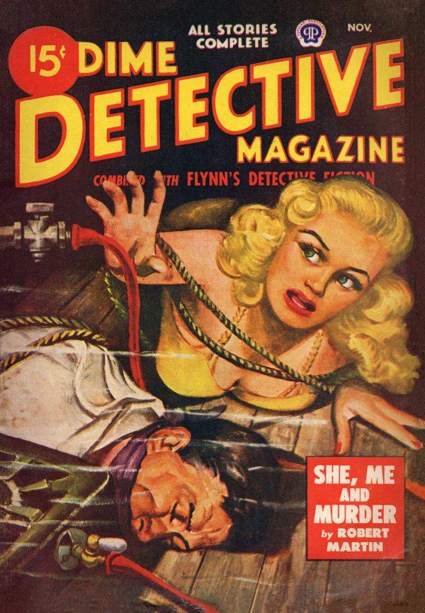 Dime Detective November 1948 (Canadian)