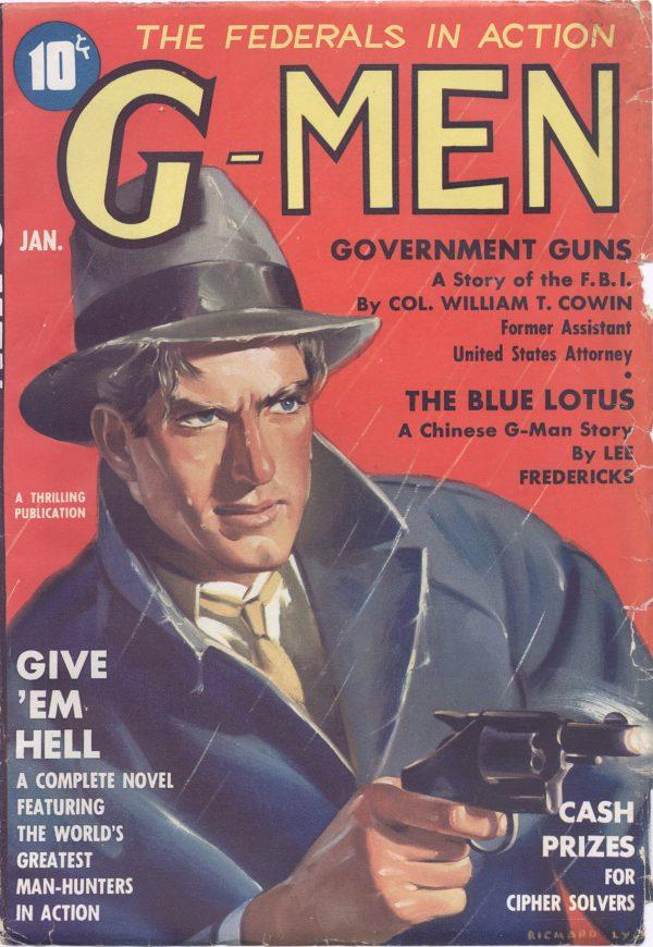 G-Men January 1937