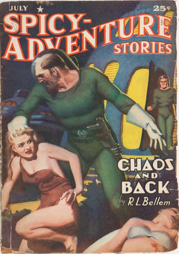 July 1941 Spicy Adventure Stories