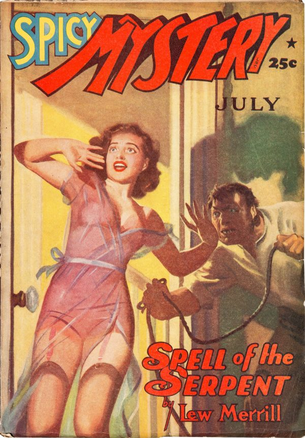 July 1941 Spicy Mystery Stories