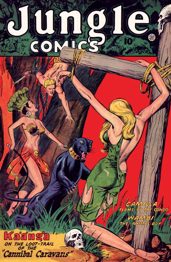 Jungle Comics #99 March 1948