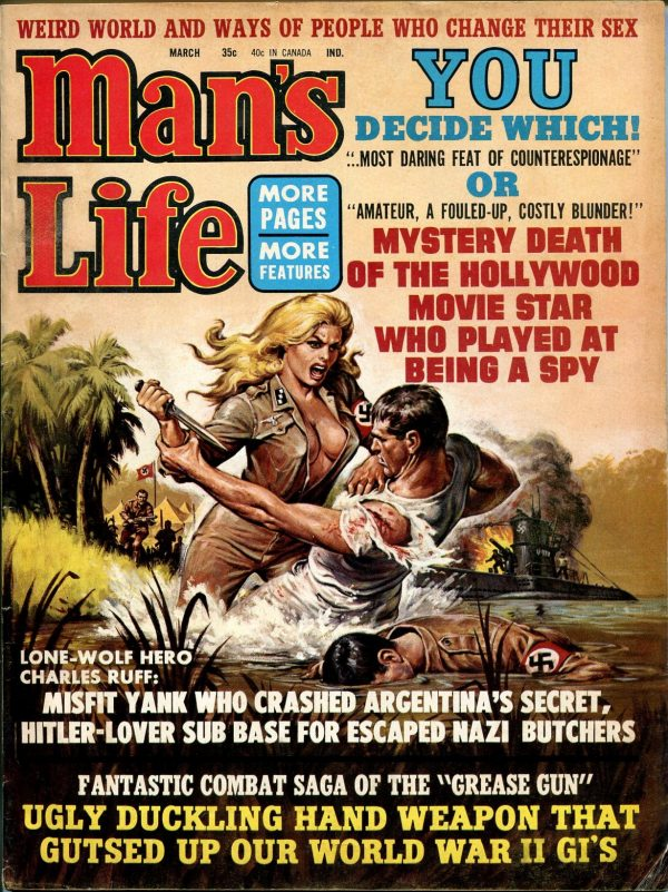 Man's Life March 1969