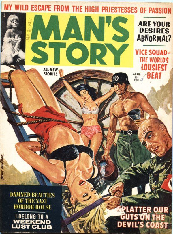 Man's Story April 1963