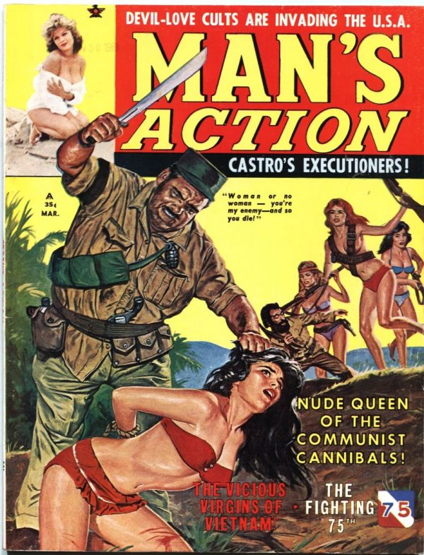 Man's Action Magazine March 1962