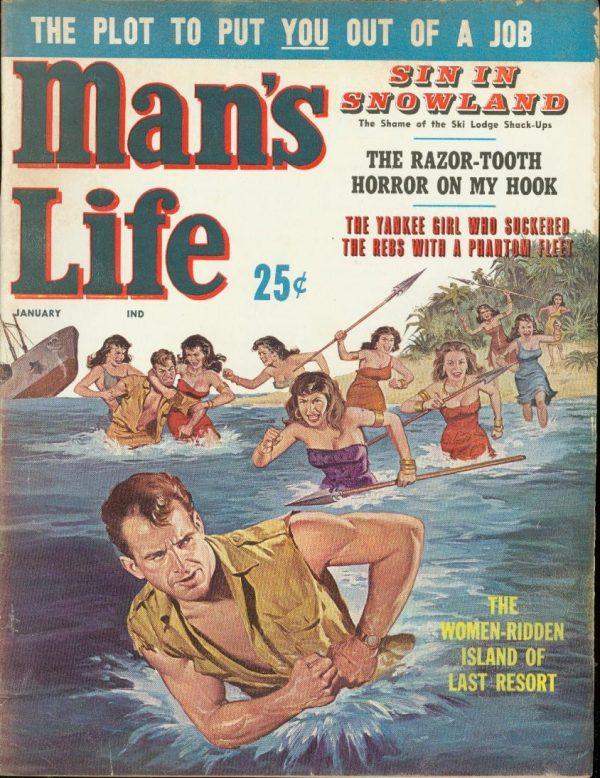 Man's Life January 1961