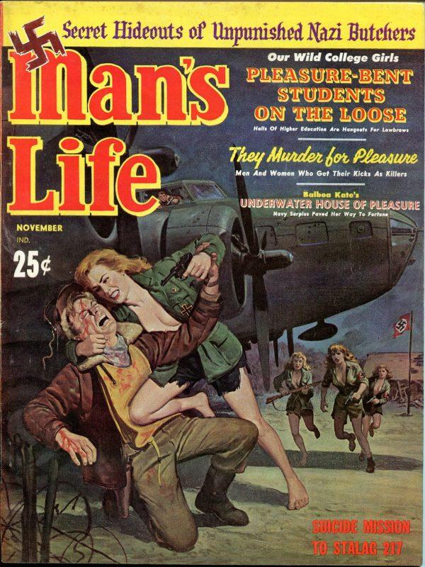 Man's Life November 1961