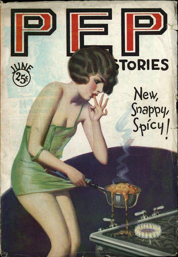 Pep Stories June 1930
