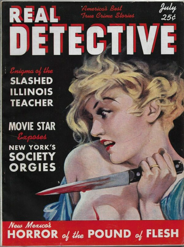 Real Detective July 1938
