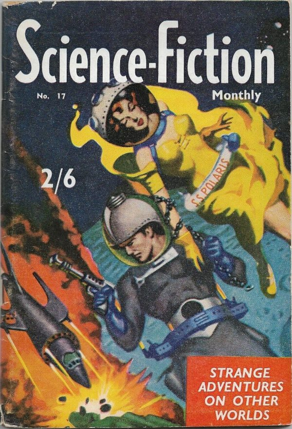 Science-Fiction Monthly #17 1956