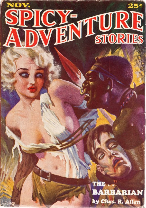 Spicy Adventure - November 1934
