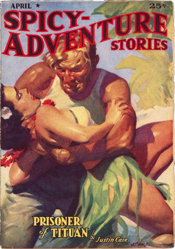 Spicy Adventure Stories - April 1938