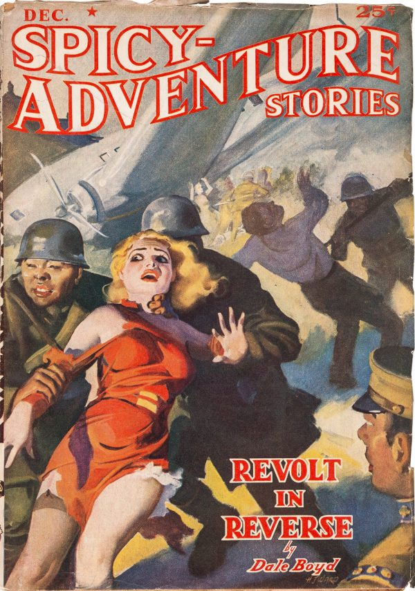 Spicy Adventure Stories - December 1938