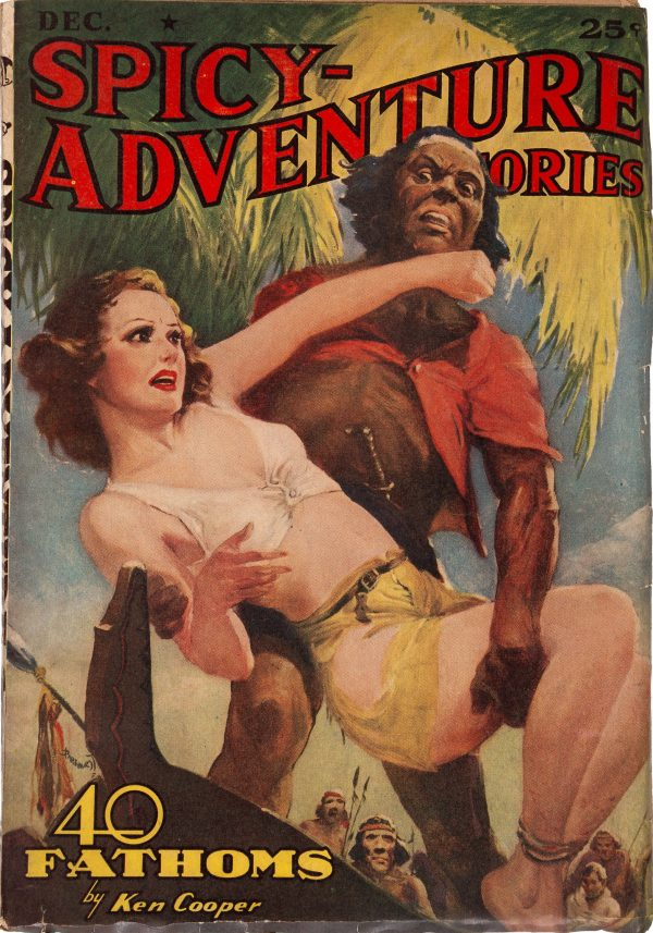 Spicy Adventure Stories - December 1939