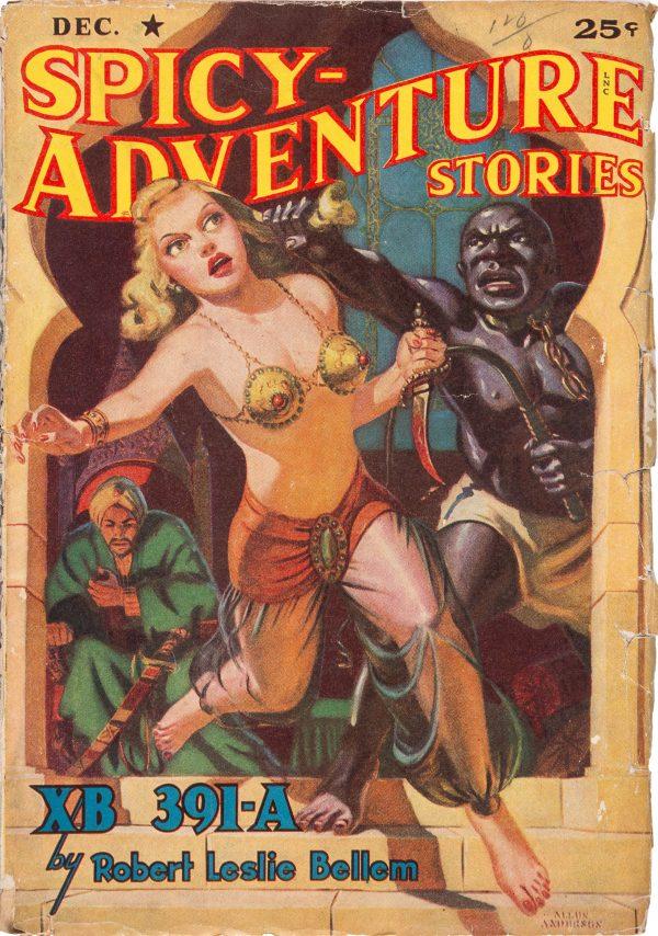 Spicy Adventure Stories - December 1941