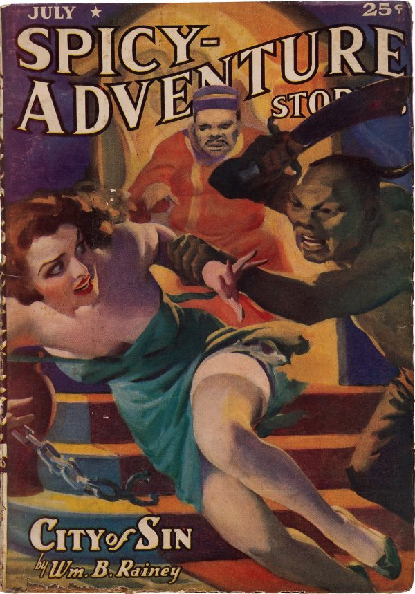 Spicy Adventure Stories - July 1938