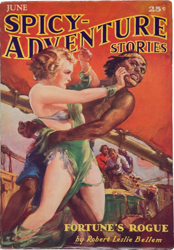 Spicy Adventure Stories - June 1935