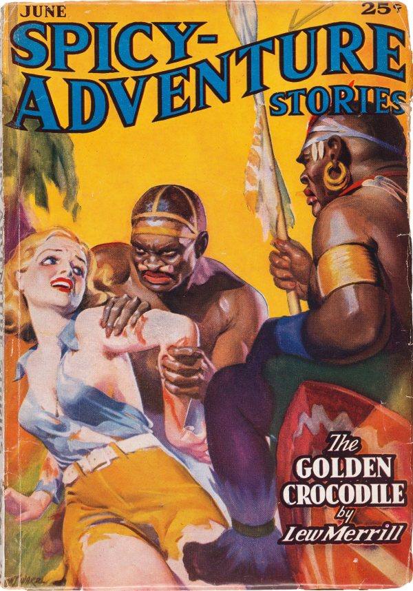 Spicy Adventure Stories - June 1937