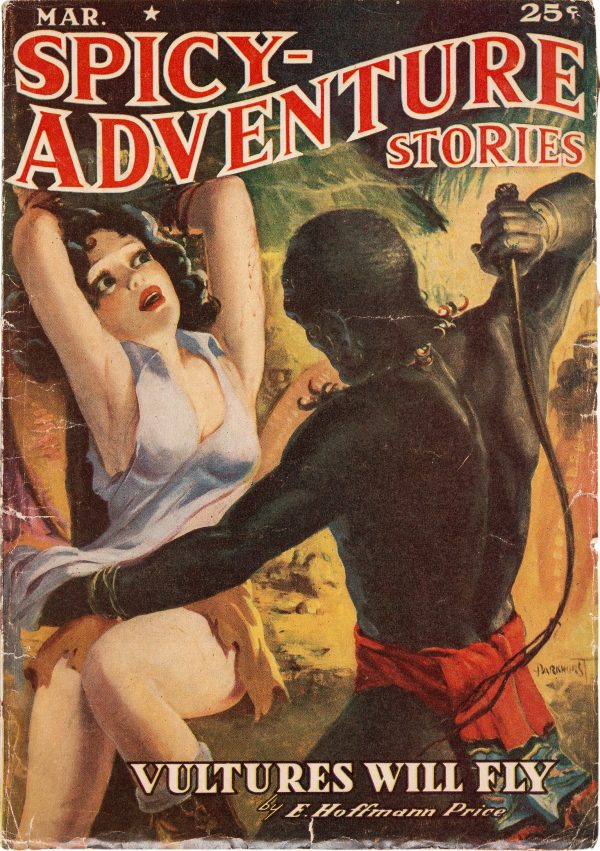 Spicy Adventure Stories - March 1939