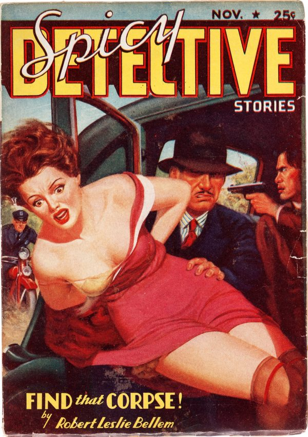 Spicy Detective - November 1937