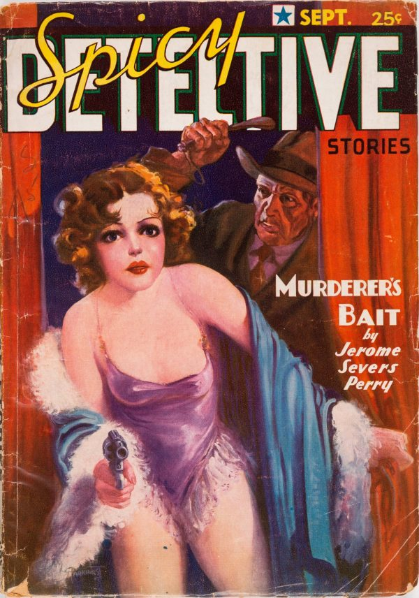 Spicy Detective - September 1936