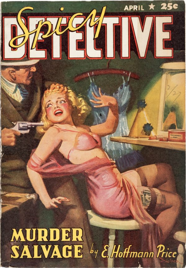 Spicy Detective Stories - April 1941