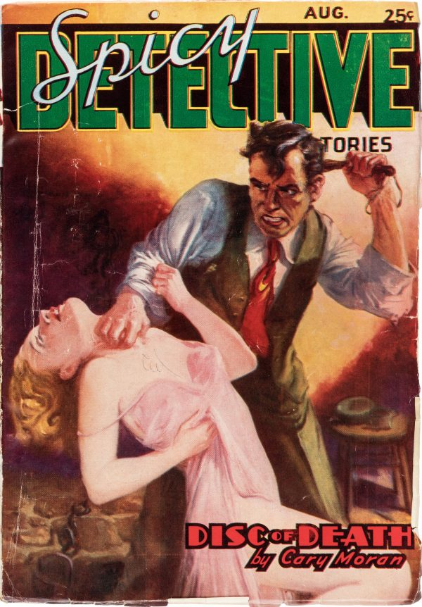 Spicy Detective Stories - August 1937