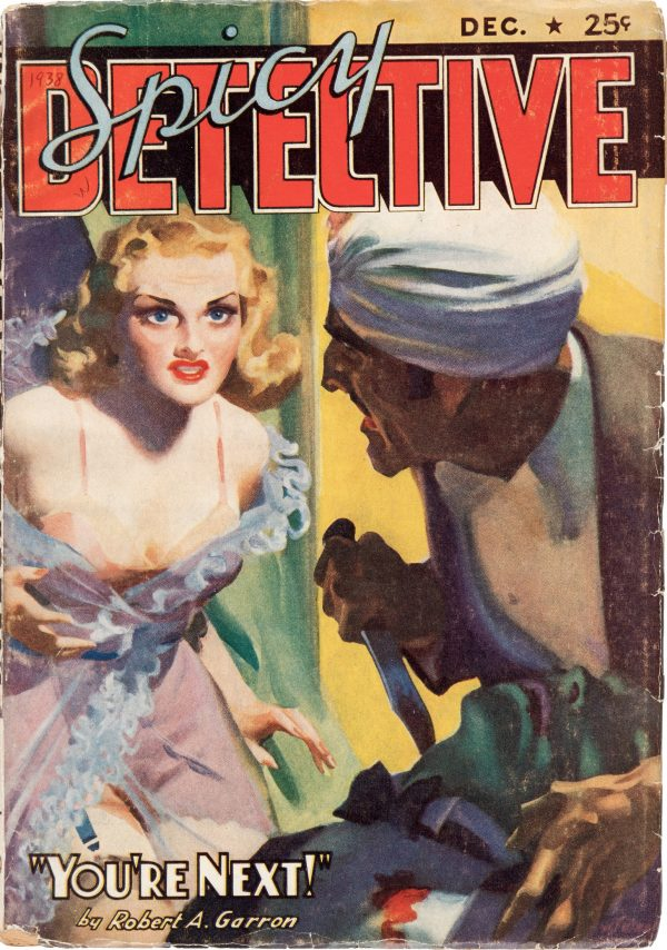 Spicy Detective Stories - December 1938