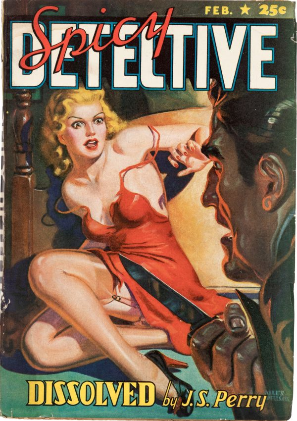 Spicy Detective Stories - February 1941