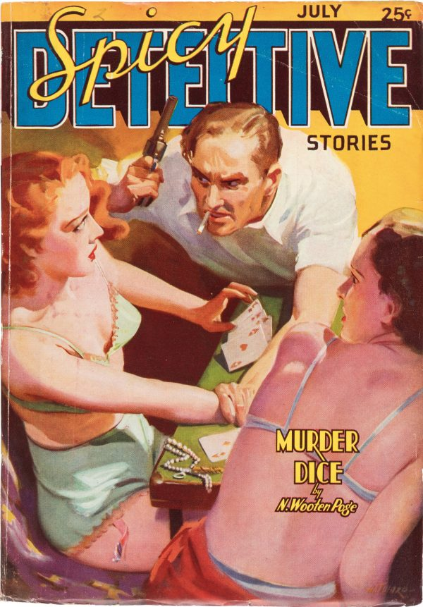 Spicy Detective Stories - July 1937
