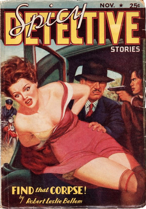 Spicy Detective Stories - November 1937