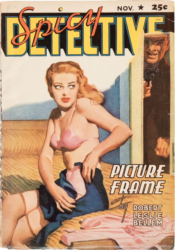 Spicy Detective Stories - November 1941