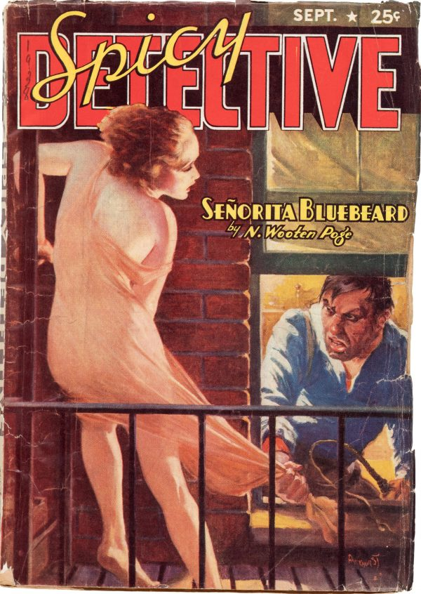 Spicy Detective Stories - September 1938