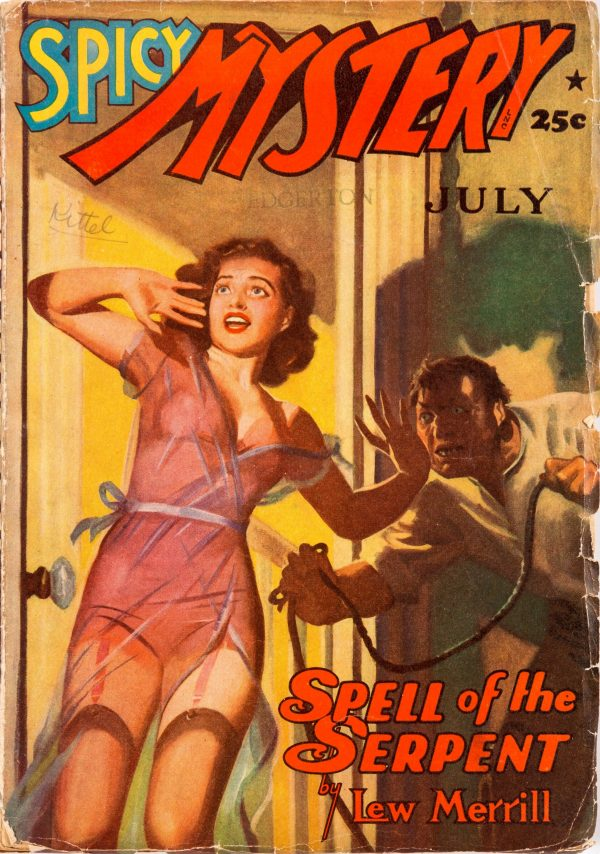Spicy Mystery - July 1941