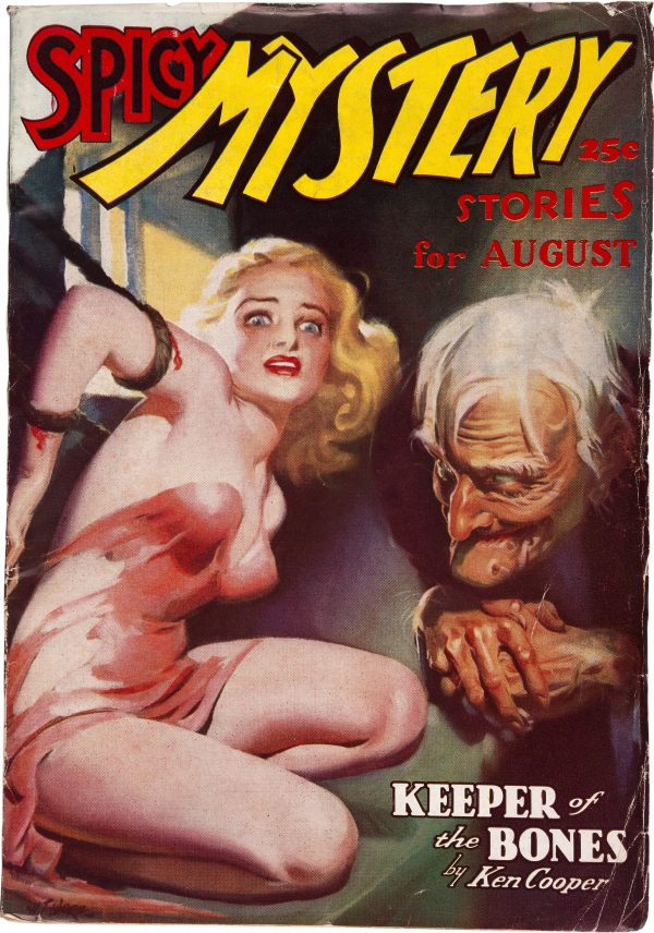 Spicy Mystery Stories - August 1937