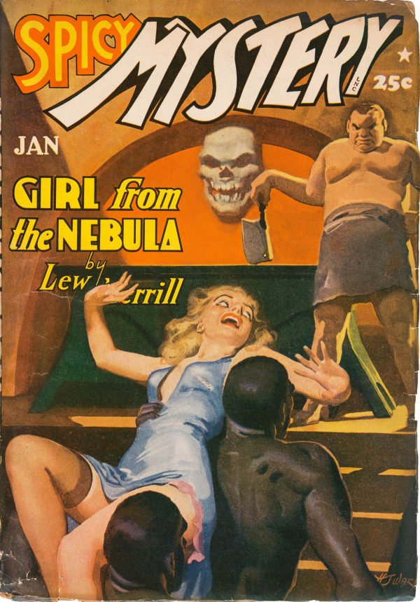 Spicy Mystery Stories - January 1942