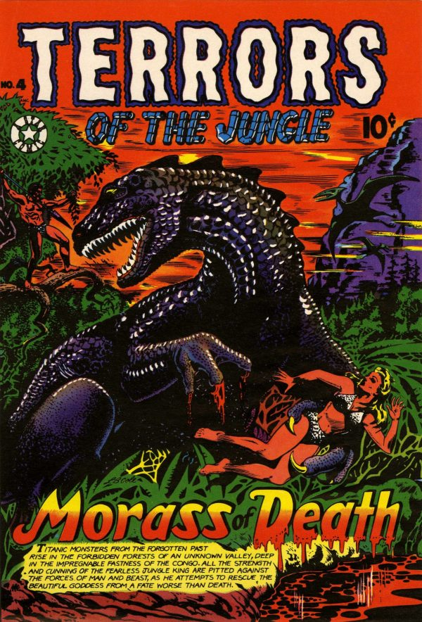 Terrors of the Jungle #4 (1953)
