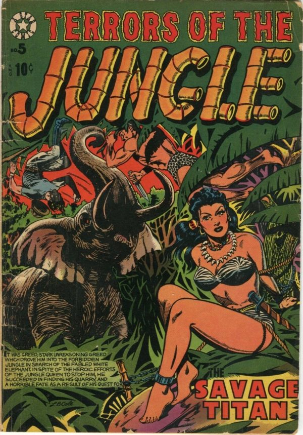 Terrors of the Jungle #5 (1953)