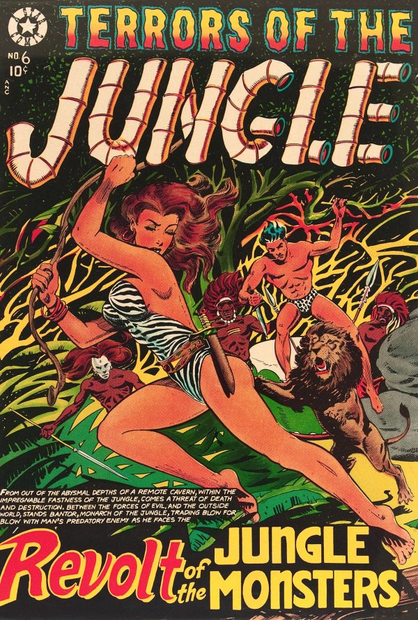 Terrors of the Jungle #6 1953