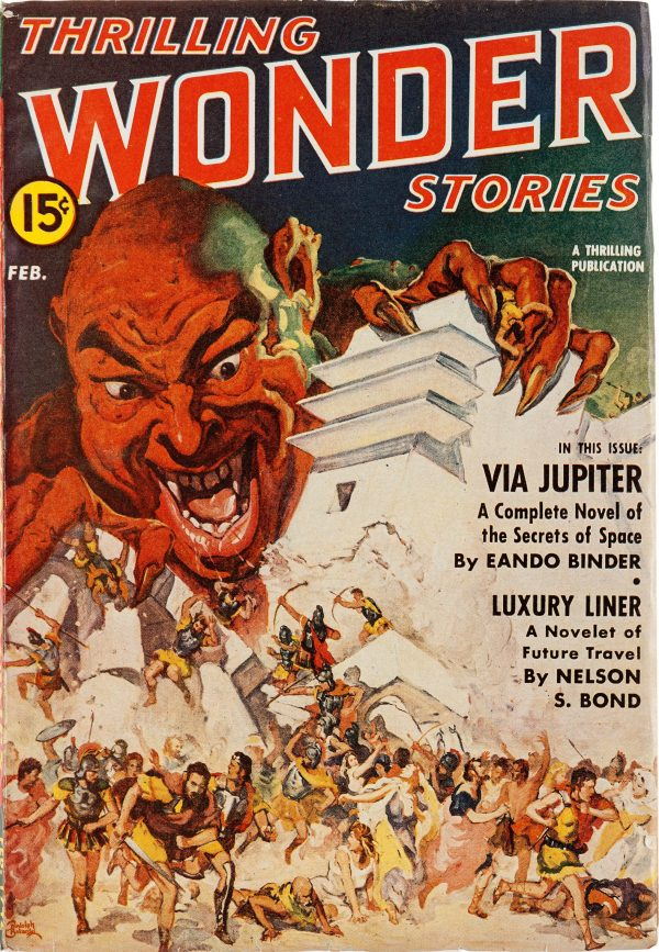 Thrilling Wonder Stories - February 1942