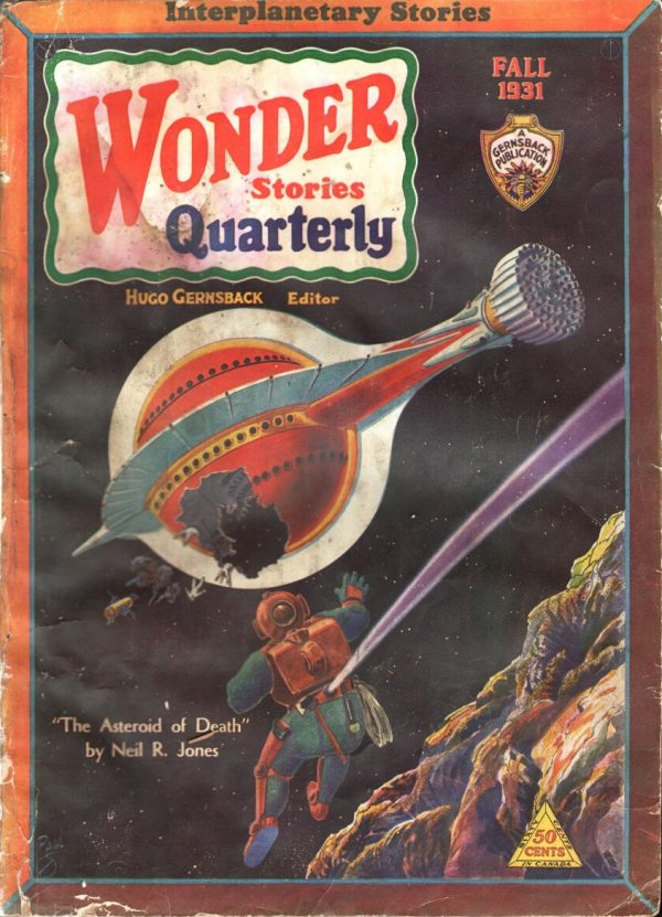 Wonder Stories Quarterly, Fall 1931