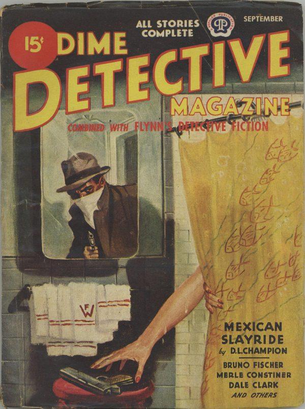 Dime Detective Magazine September 1944