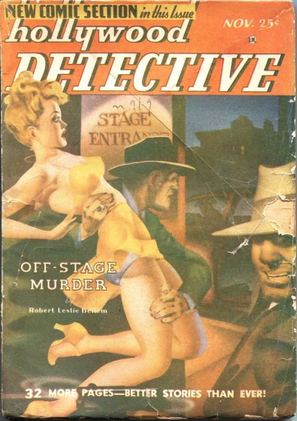 Hollywood Detective November 1948