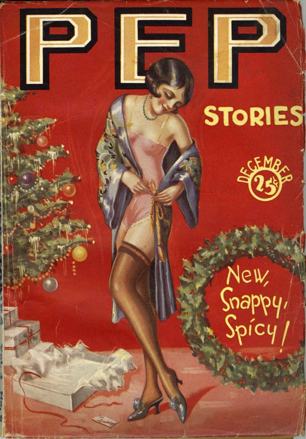 Pep Stories December, 1928