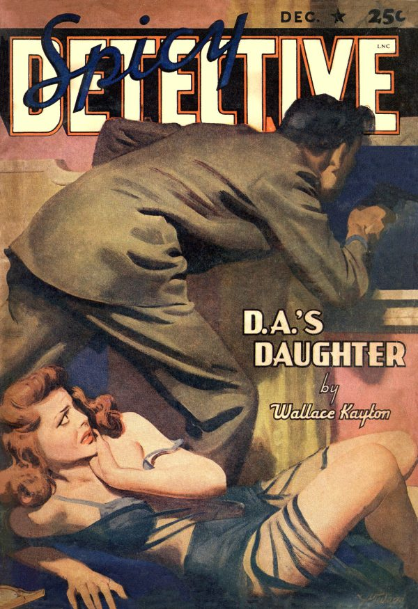 Spicy Detective Stories December 1941 - Restored