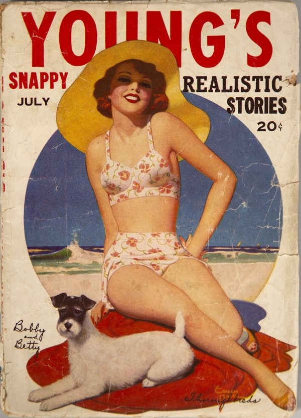 Young's Snappy Realistic Stories July 1941