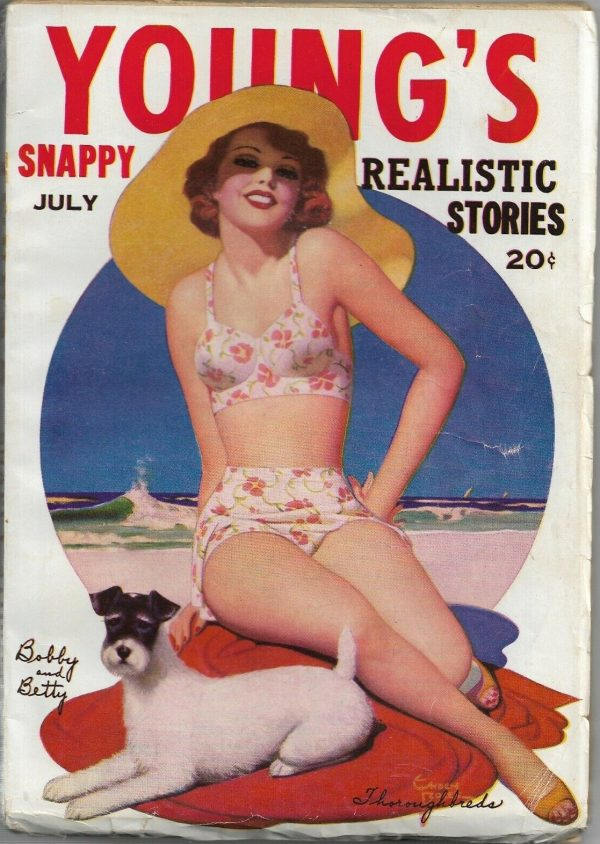 Young's Snappy Stories July 1941