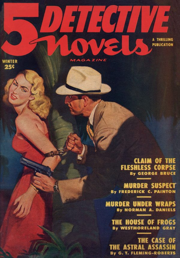 5 Detective Novels 1950 Winter