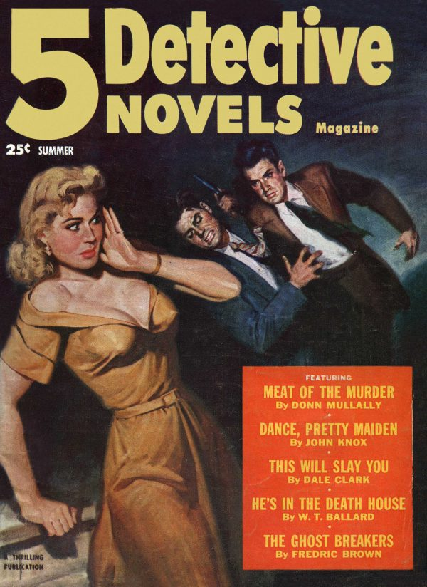 5 Detective Novels Magazine Summer 1952